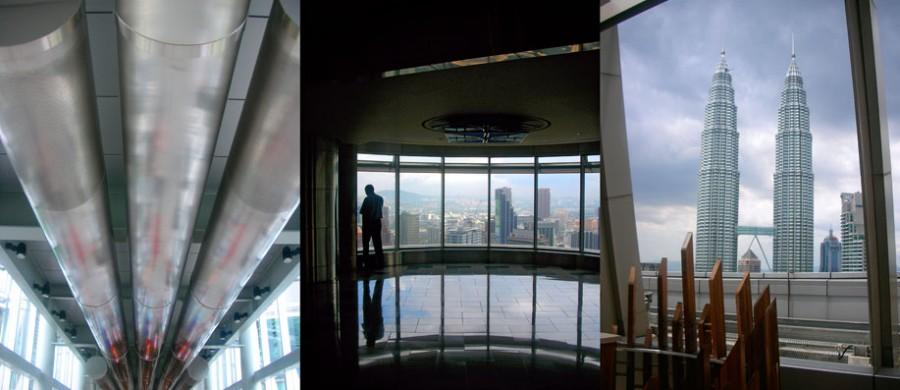 Tween towers Petronas de Kuala Lumpur